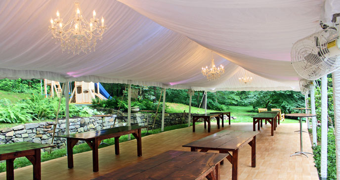 Elegant Party Tents : tented wedding venues nj - memphite.com
