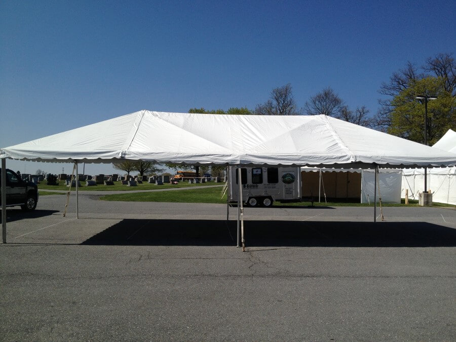20u0027x40u0027 Frame Tent on Concrete & Beautiful Photos of Party Tents for Rent | Hess Tent Rental