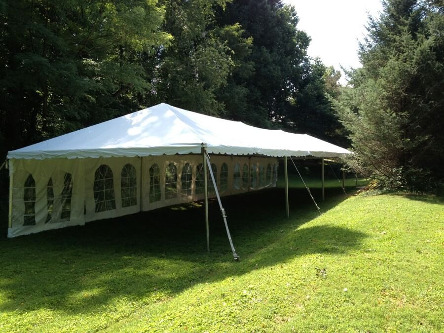 20'x80' Frame Tent