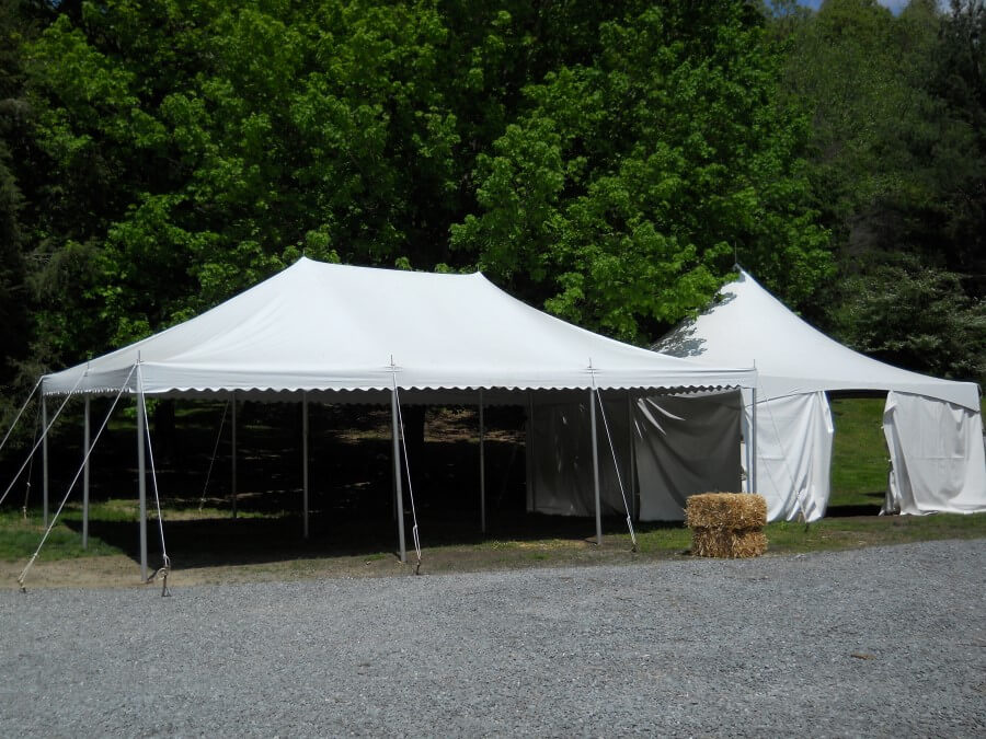 20'x30' Pole Tent at Road