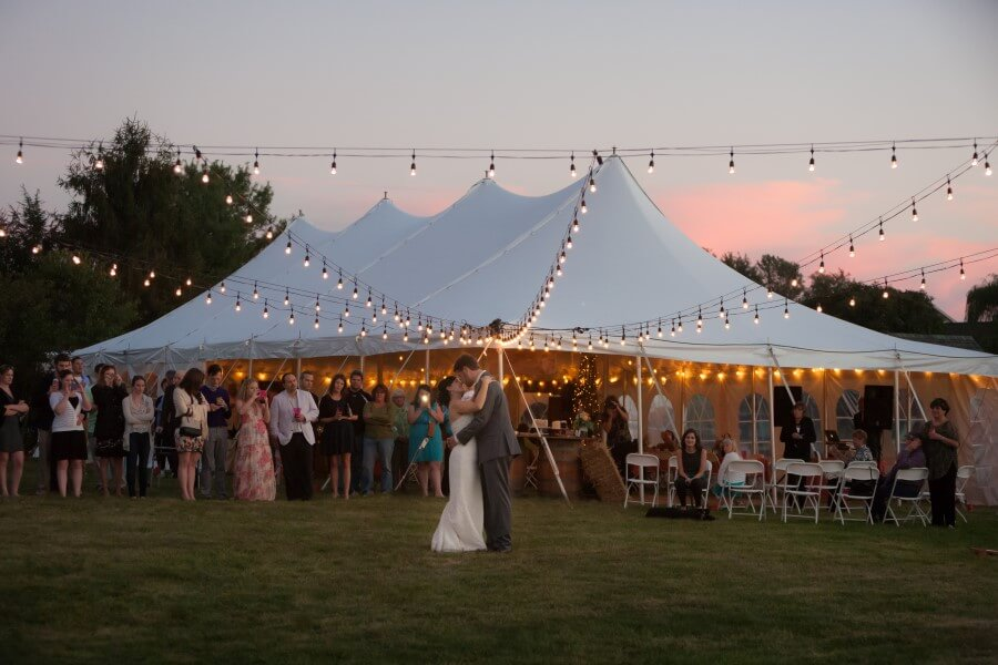 30 X 75 Wedding Photo By Geoff Sensenig Lighting Stray Production Services