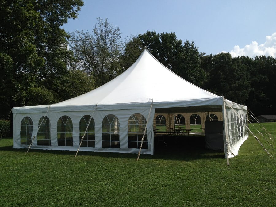 40u0027x40u0027 Pole Tent & Beautiful Photos of Party Tents for Rent | Hess Tent Rental