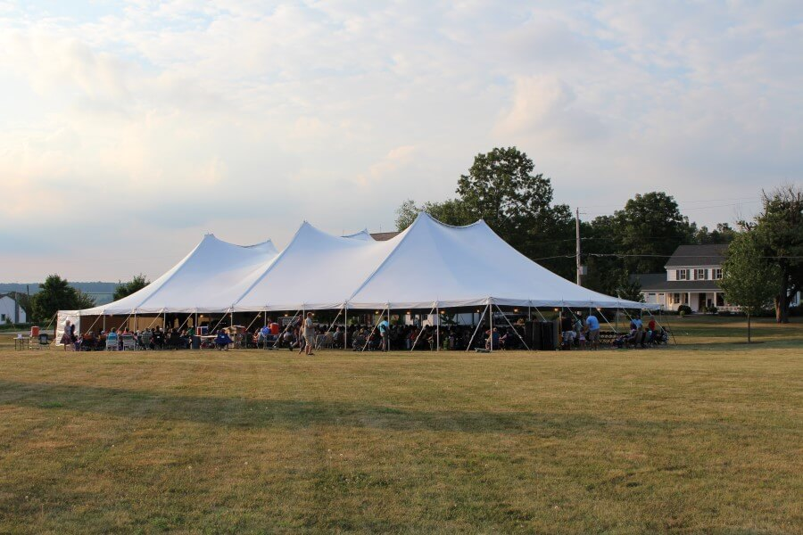 60u0027x120u0027 Pole Tent & Beautiful Photos of Party Tents for Rent | Hess Tent Rental