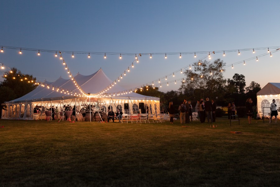 30 x 75 Wedding with Stray Lights and Photo by Geoff Sensenig