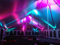 Outdoor Party & Wedding Tent String Lights | Event Lighting