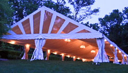 Frame Tent for Weddings