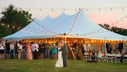 Pole Tent for Weddings & Wedding Tents for Rent | High Peak Pole u0026 Frame Tents